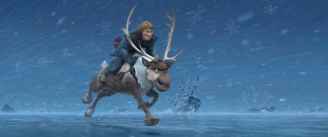 """FROZEN"" (Top to Bottom) KRISTOFF and SVEN ?2013 Disney. All Rights Reserved."